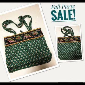 Vera Bradley Retired vintage quilt purse